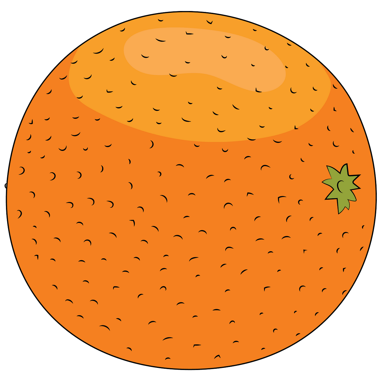 Orange clipart. Free download..