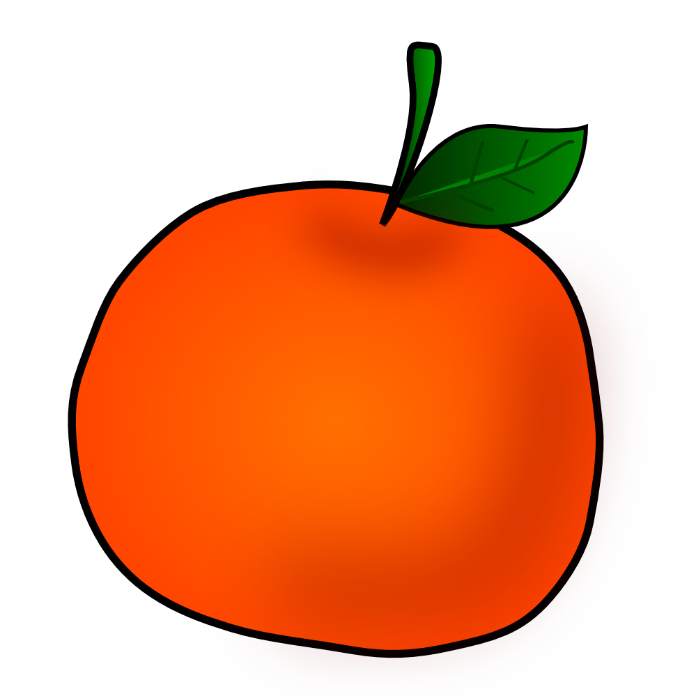 237 Oranges free clipart.