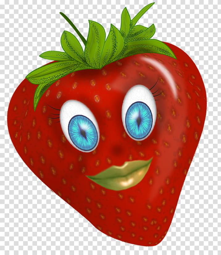 Strawberries , strawberry illustration transparent.