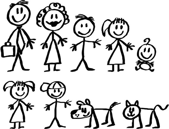 32+ Stick Figure Family Clipart.
