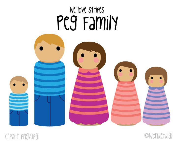 Family clipart 5 people 3 » Clipart Portal.