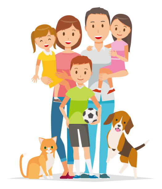 Family clipart 5 people 3 » Clipart Station.