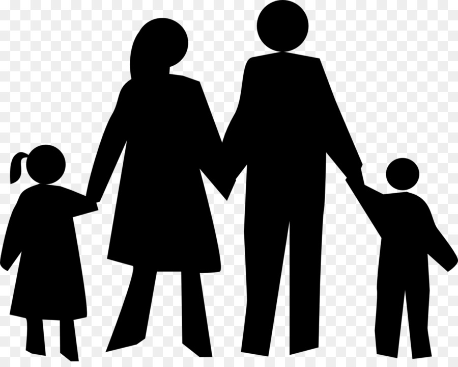 Free Family Of 5 Silhouette, Download Free Clip Art, Free Clip Art.