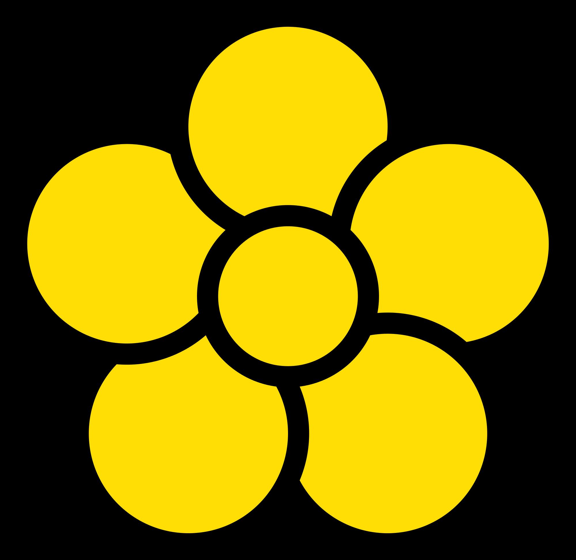 5 Petal Flower Drawing at GetDrawings.com.