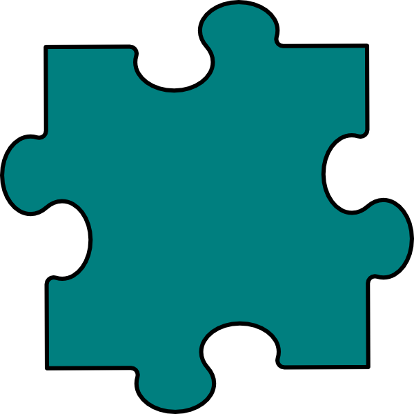 Pieces Of The Puzzle Clipart