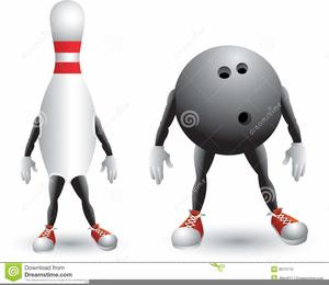 Free Pin Bowling Clipart.