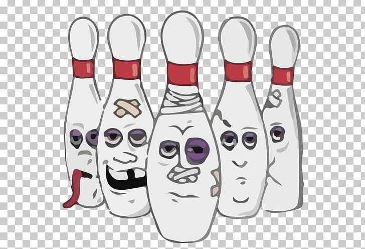 Split Bowling Pins Ten.