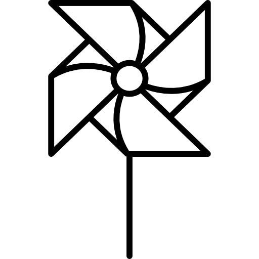 Pinwheel clipart black and white clipart images gallery for.