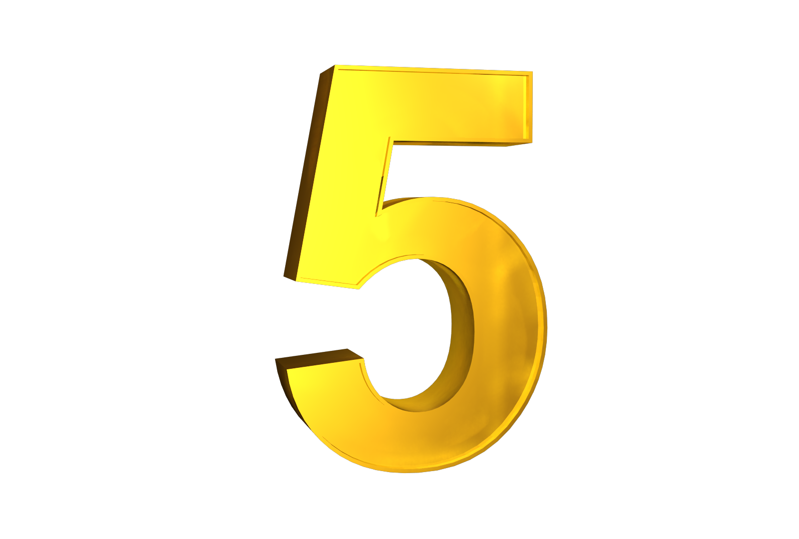 Number 5 PNG images free download.