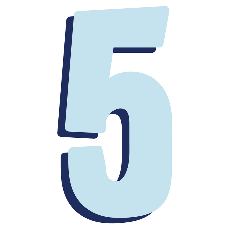 Png Of Number 5 & Free Of Number 5.png Transparent Images #21841.