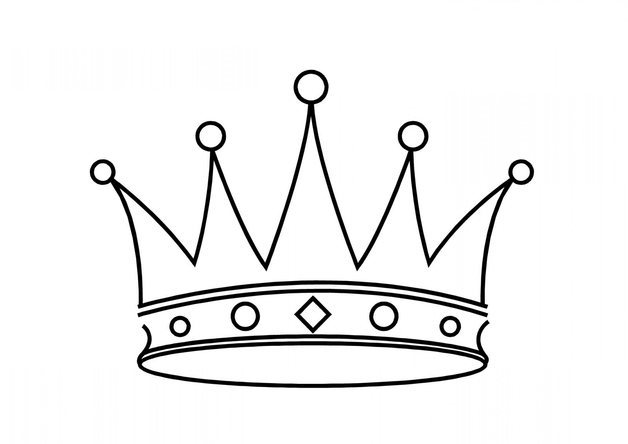 Crown Clipart On Crown Clipart Black And White.
