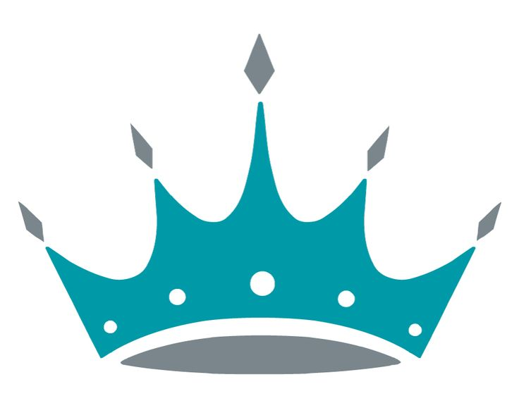 5 Point Crown Clipart.