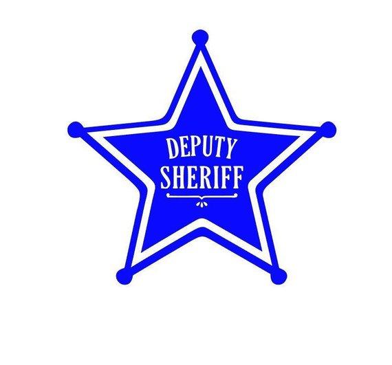5 Point Star / Deputy Star Badge / Deputy Sheriff Badge.