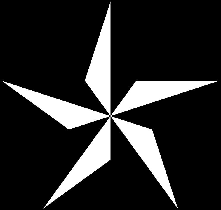 Nautical Star Vector Free Download Clip Art.