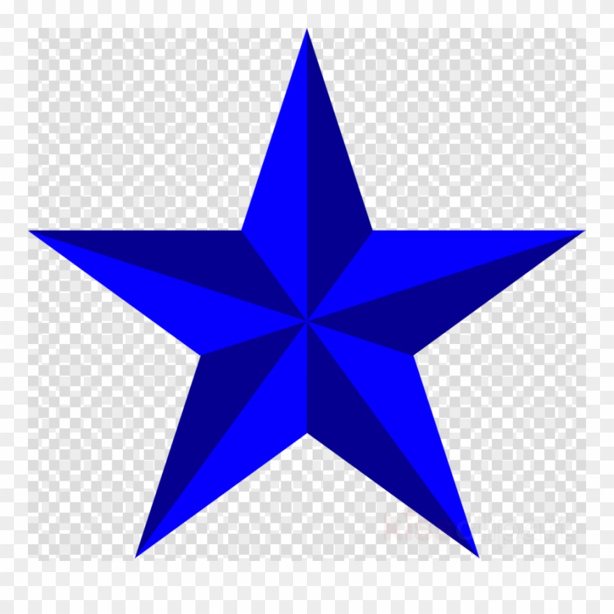 5 Point Star Clipart Five.