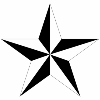 Nautical Star Vector.