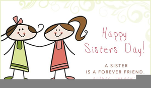 National Sibling Day Clipart.