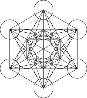 Cube de Metatron.