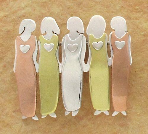 Five Sisters Pin.