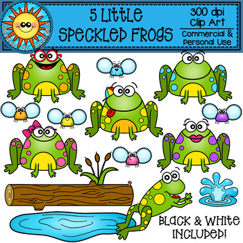 5 Speckled Frogs Worksheets & Teaching Resources.