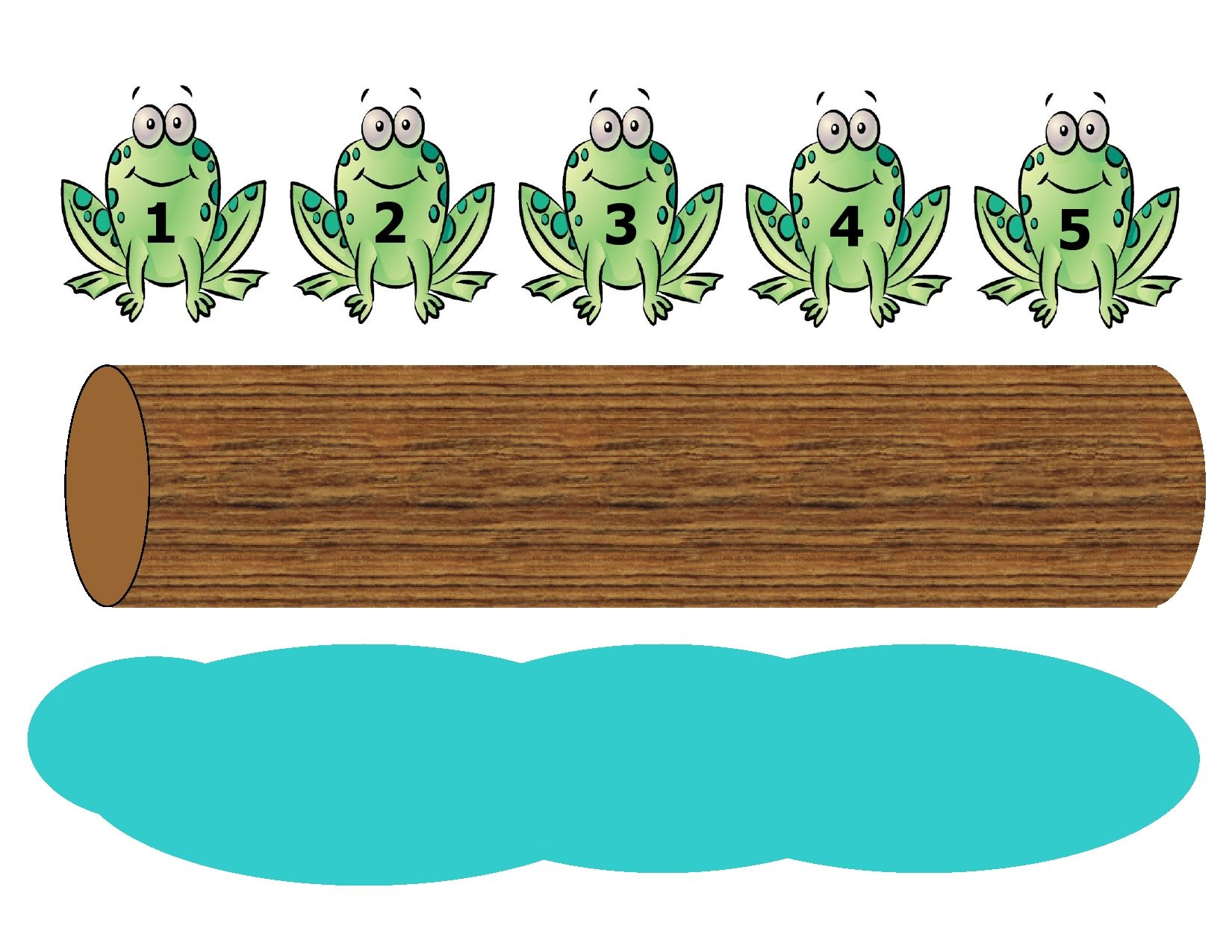 Five Green and Speckled Frogs fingerplay is a fun way to introduce.