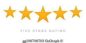 5 Star Rating Clip Art.