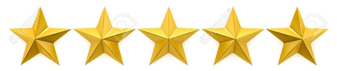 5 Gold Stars.