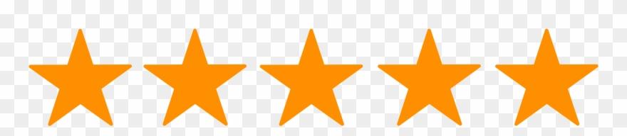 5 5 Stars Transparent Clipart (#764362).