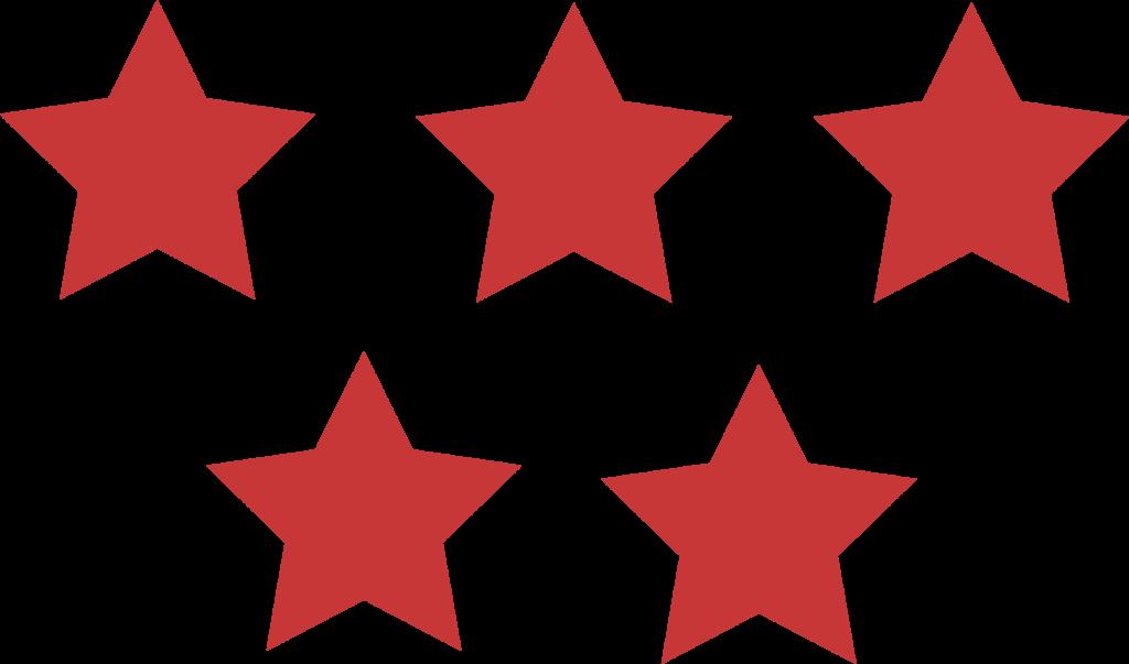 Same color 5 Stars.