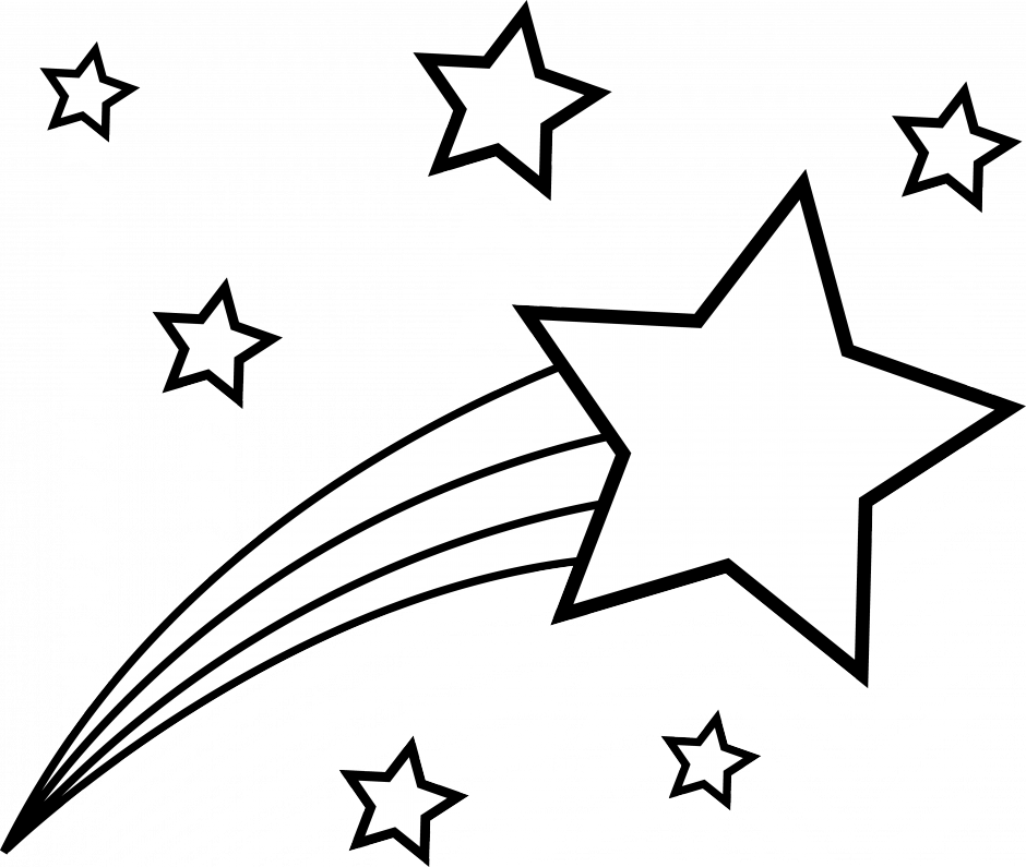 Star clipart black and white free 5 » Clipart Station.