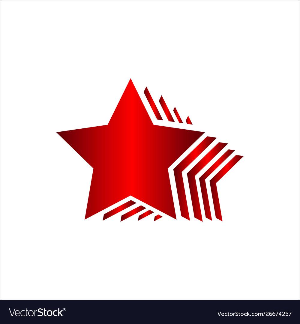 Premium quality five stars 5 star logo design.