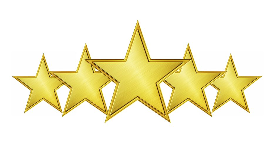 Five Star Icon, Transparent Five Star.PNG Images & Vector.