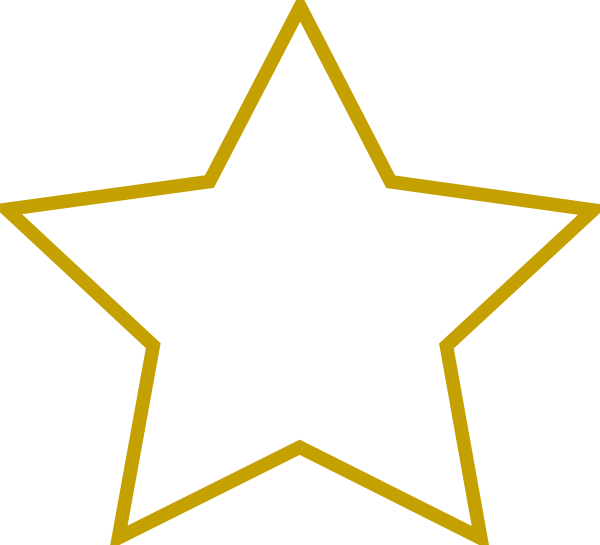 Star Shape Clip Art at Clker.com.