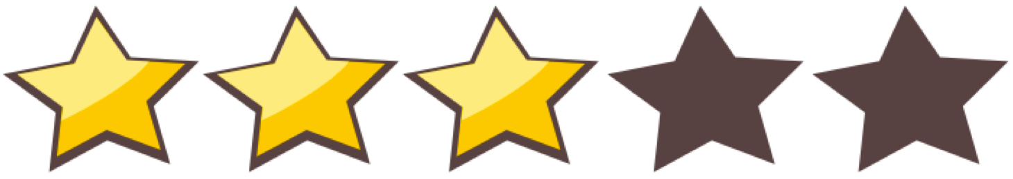 5 Star Rating Clipart.