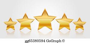 5 Star Clip Art.