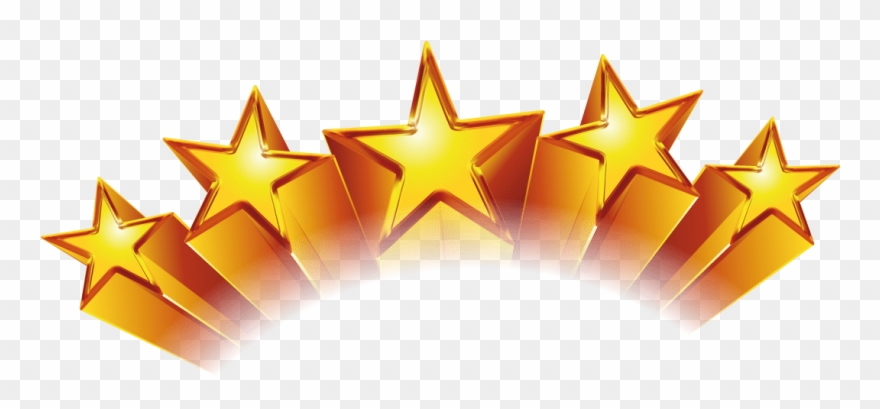 5 Stars Film Rating Clipart.