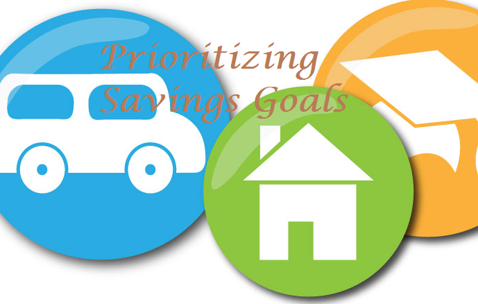 A 5 step process to prioritize saving goals to remain.