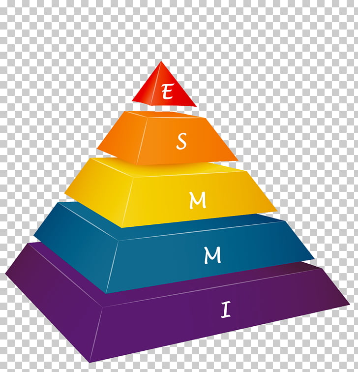 Stock photography , pyramid 5 step PNG clipart.