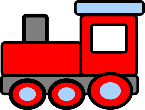 Free train clipart pictures 5.