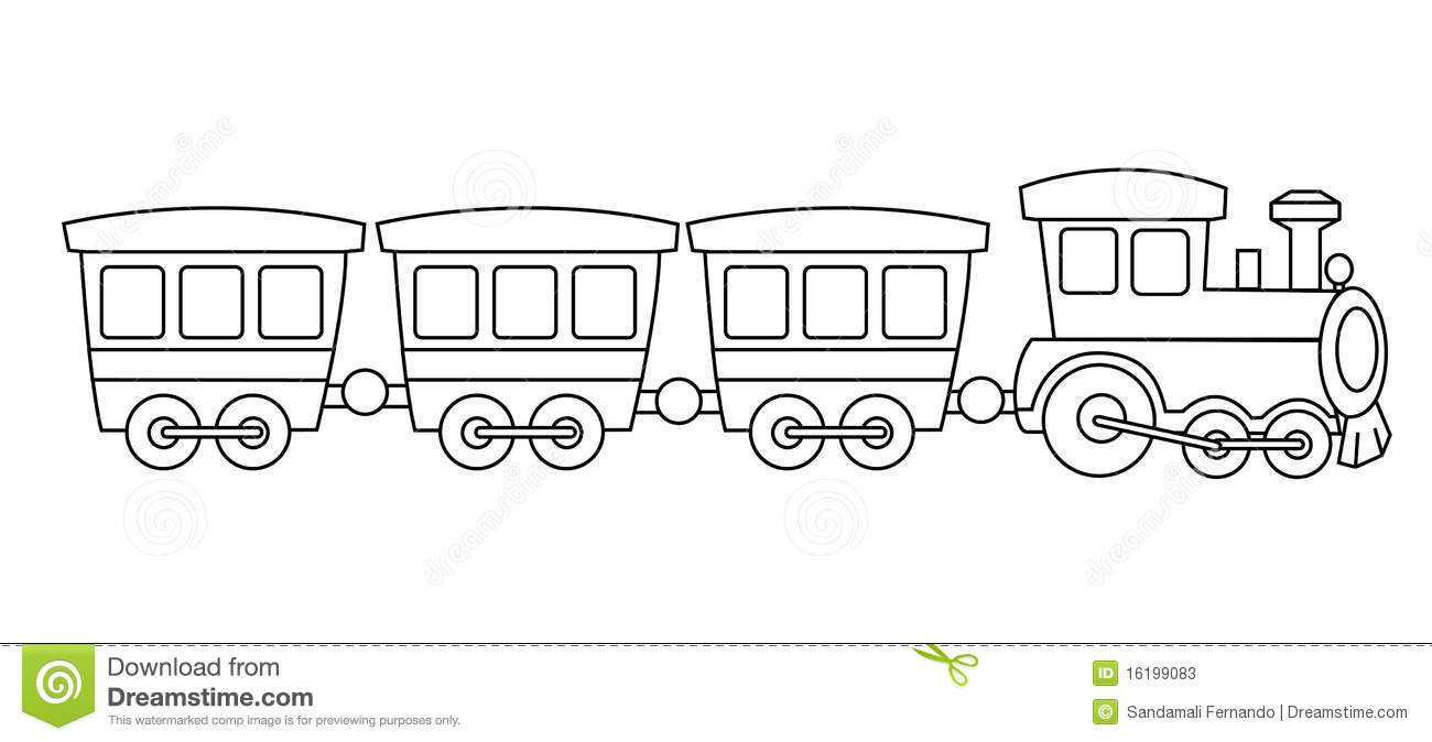 Toy train clipart black and white 5 » Clipart Station.
