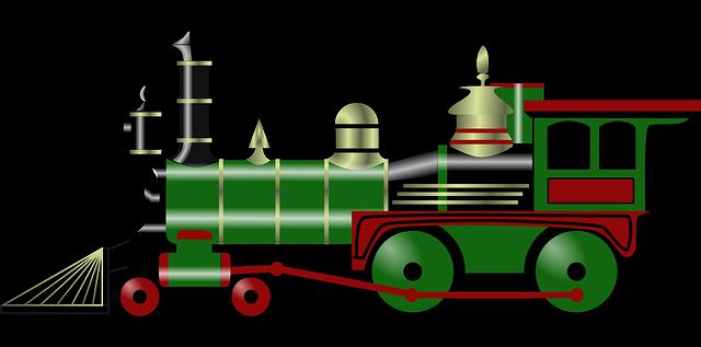Train free to use clip art 5.