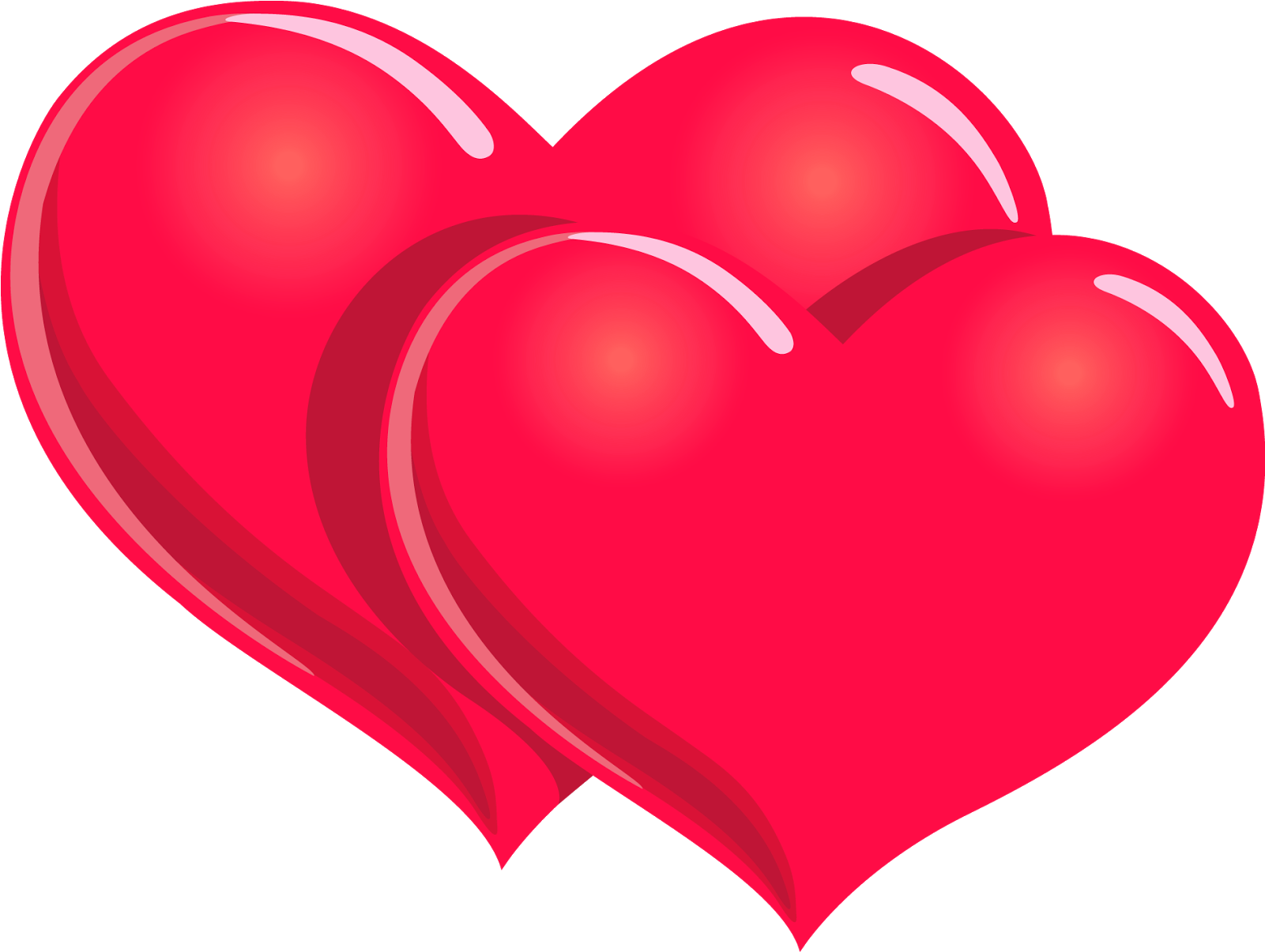 Hearts Valentines Clipart.