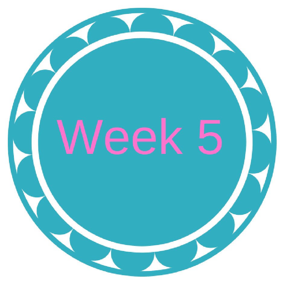 Week 5 Clipart.