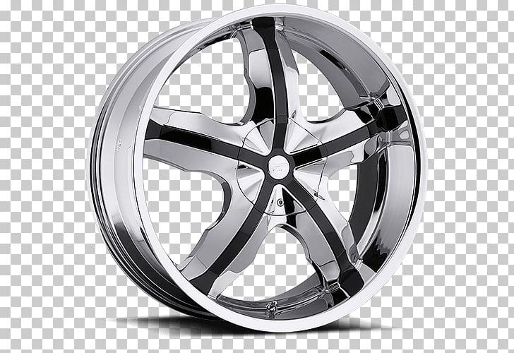 Wheel Rim Side, chrome.