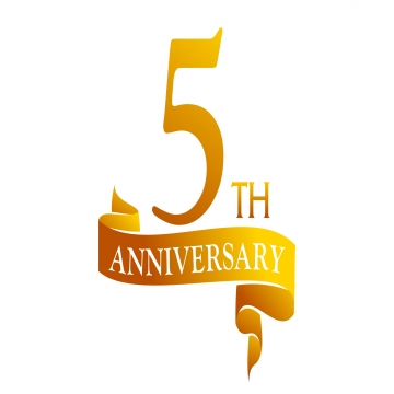 5 Years Png, Vector, PSD, and Clipart With Transparent Background.