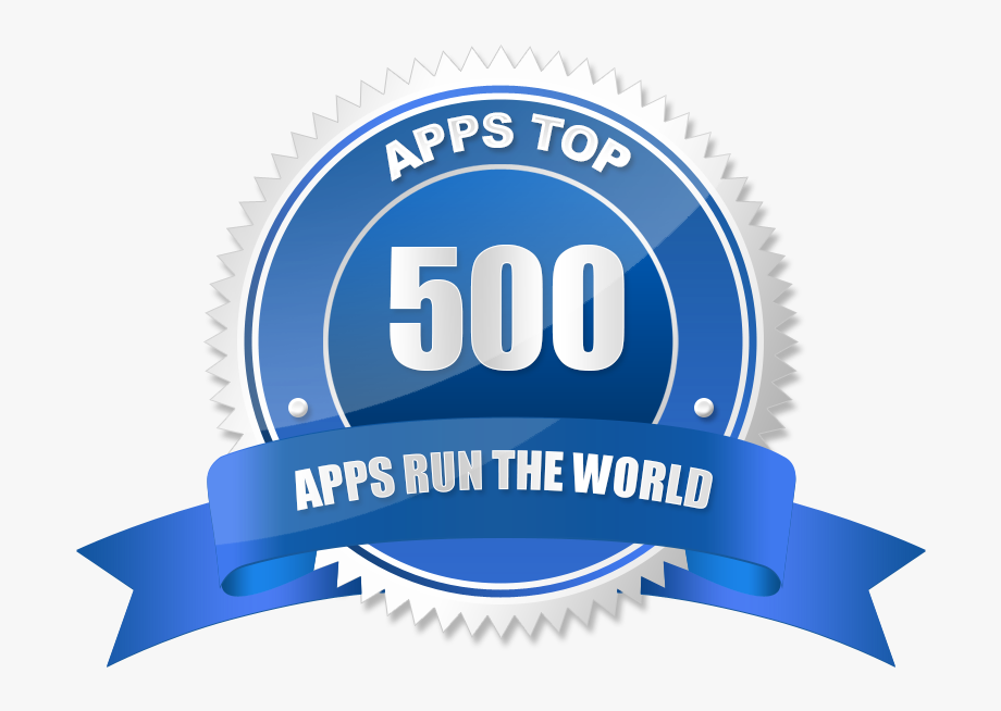 Apps Top 500 Vendor Reward Badge.