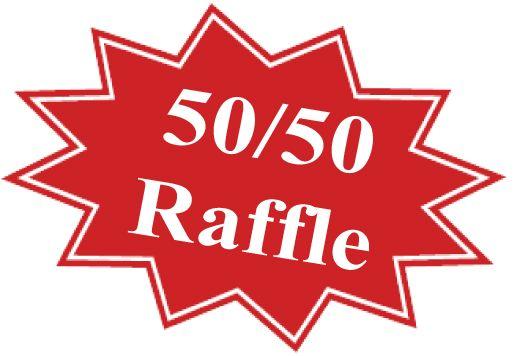 50/50 raffle rules.