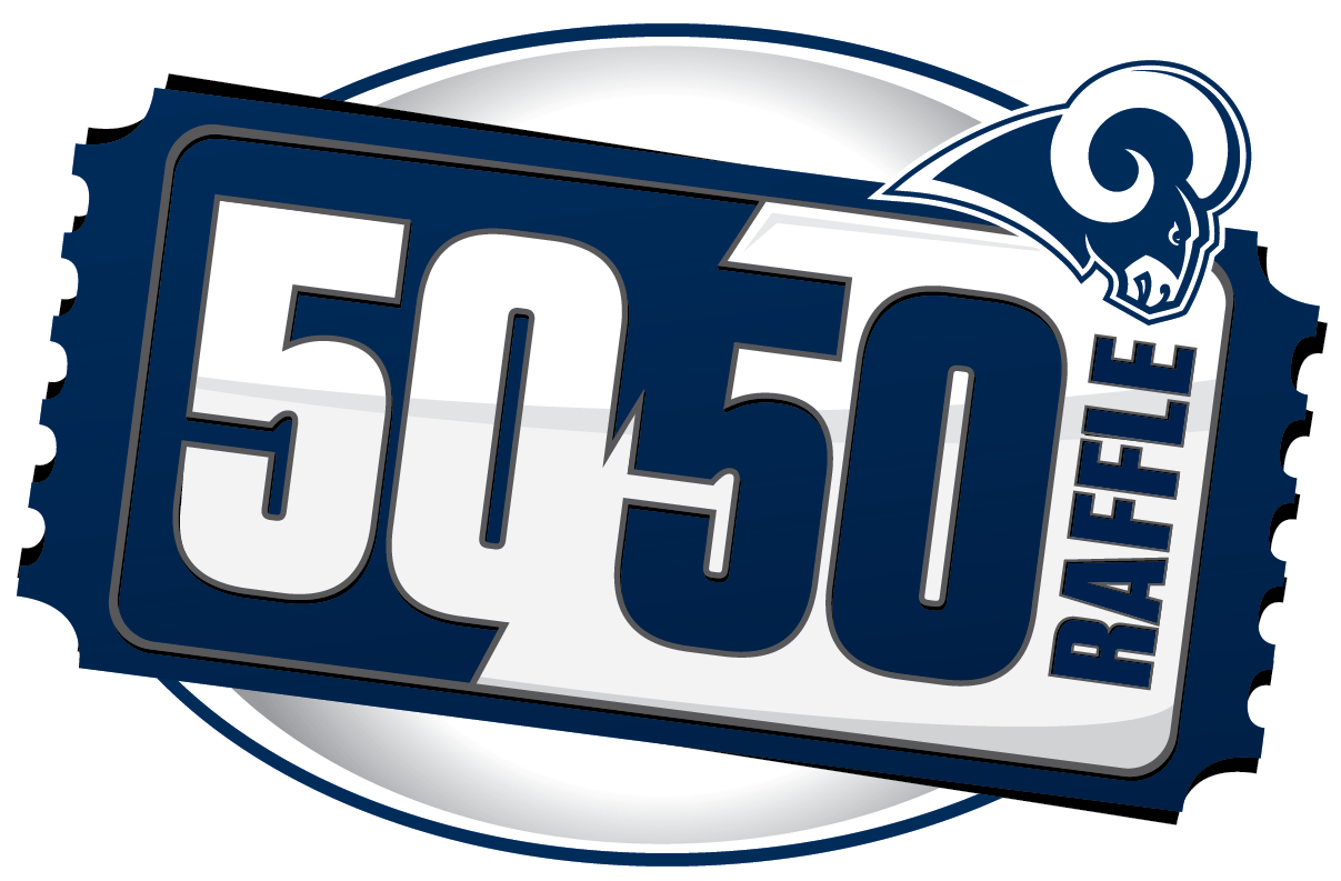 Rams 50/50 Raffle.