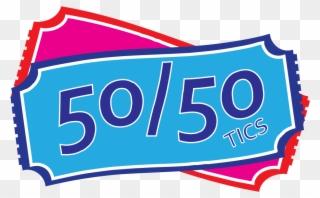 Free PNG 50 50 Raffle Clip Art Download.