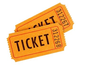 50 50 Raffle Tickets Clipart.
